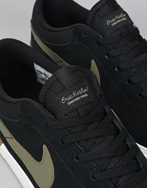 Nike SB Hypervulc Eric Koston Skate Shoes - Black/Olive-Gum Med Brown