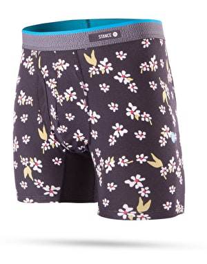 Stance Light Flowers Butter Blend Boxer Shorts - Black