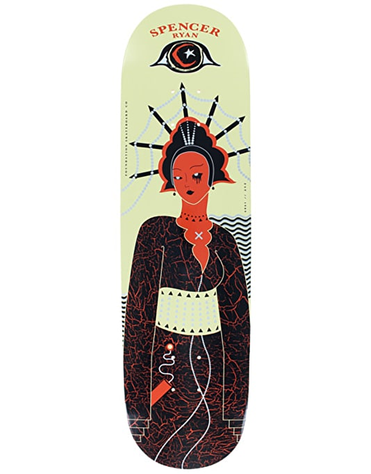 Foundation Spencer Bad 'n' Bougie Skateboard Deck - 8.25""