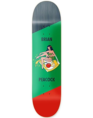 Primitive Peacock Pin Up Pro Deck - 8.125