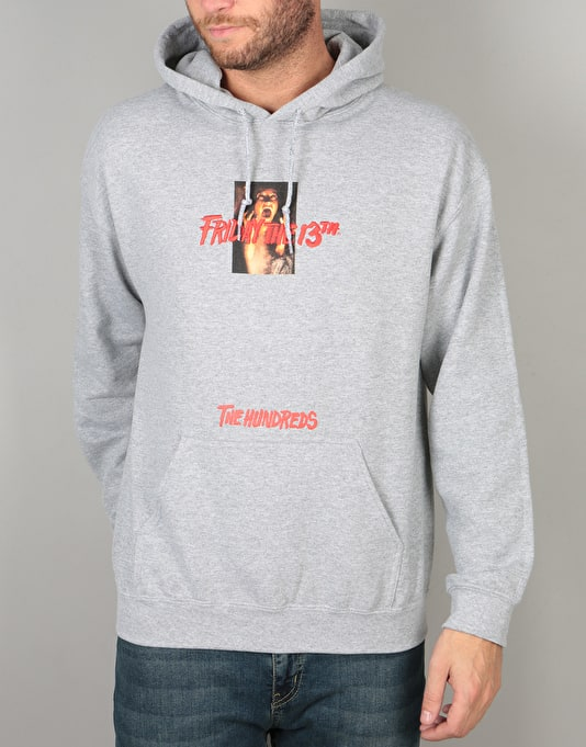 The Hundreds x Friday The 13th Doomed Pullover Hoodie - Heather