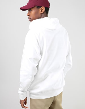 The Quiet Life Rose Pullover Hoodie - White