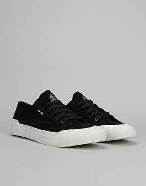 HUF Classic Lo Skate Shoes - Black/Bone