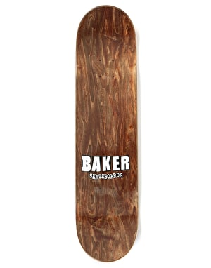 Baker Rowan Brand Name Rose Gold Skateboard Deck - 7.75