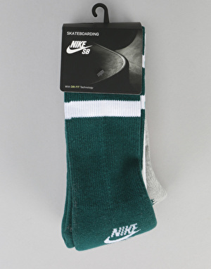 Nike SB Crew Socks 3 Pack - Assorted