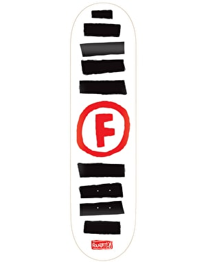 Foundation Doodle Stripe Skateboard Deck - 8.5