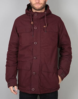 Globe Goodstock Thermal Parka Jacket - Port