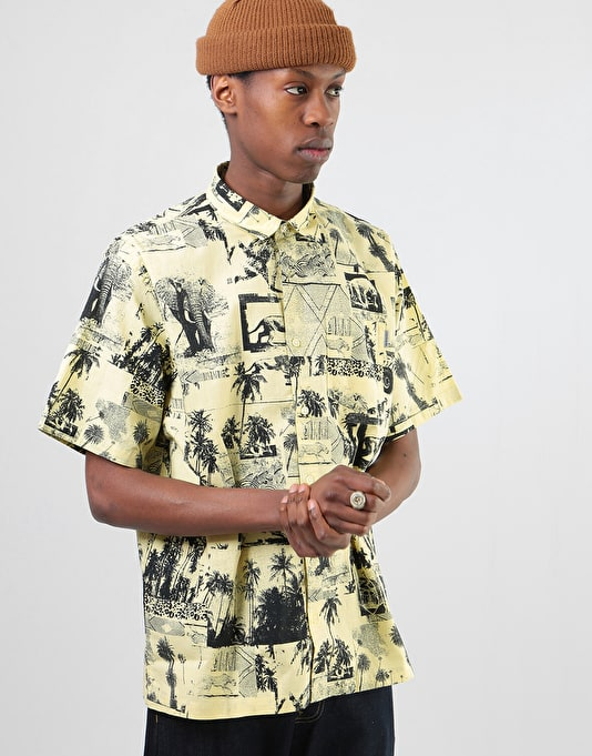 Carhartt S/S Safari Shirt - Safari Print-Spot