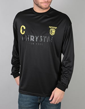 Chrystie x CSC L/S Soccer Jersey - Black/Yellow