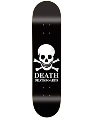 Death OG Skull Skateboard Deck - 8.1