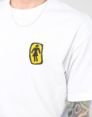 Girl Sketchy OG T-Shirt - White