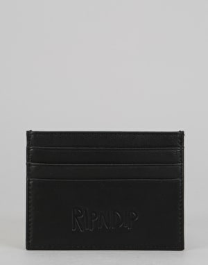 RIPNDIP Lord Nermal Card Wallet - Black