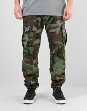 Nike SB FTM Flex Cargo Pants - Medium Olive