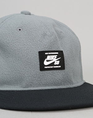 Nike SB Warmth Snapback Cap - Cool Grey/Black/Black