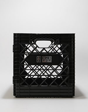 Girl x Sub Pop Milk Crate - Black