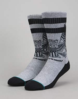 Stance The Mark Classic Crew Socks - Grey