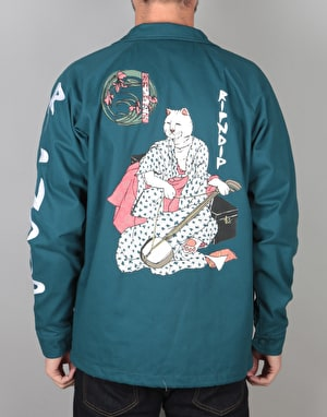 RIPNDIP Warrior Cotton Jacket - Sea Foam Green