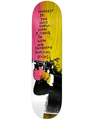 Krooked Worrest Zirox Poems Pro Deck - 8.38
