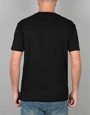 Santa Cruz Party Dot T-Shirt - Black