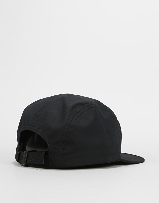 Butter Goods Side 5 Panel Cap - Black