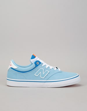 New Balance Numeric 255 Skate Shoes - Sky/White