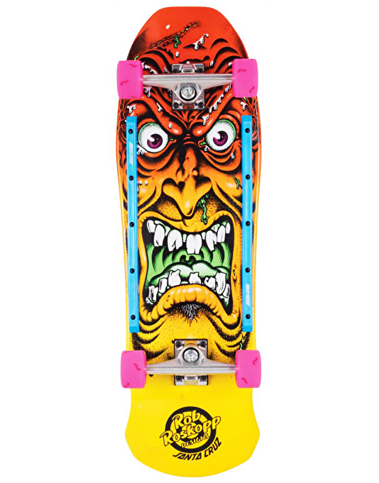 "Santa Cruz Roskopp Rob Face Cruiser - 9.5"" x 31"""