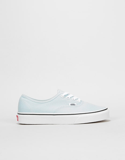 Vans Authentic Womens Trainers - Baby Blue True White  823472ef0