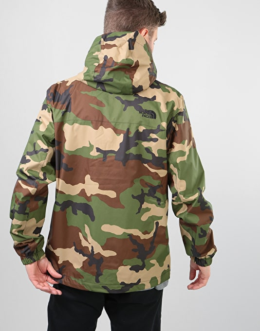 The North Face Millerton Jacket - Terrarium Green Woodland Camo Print