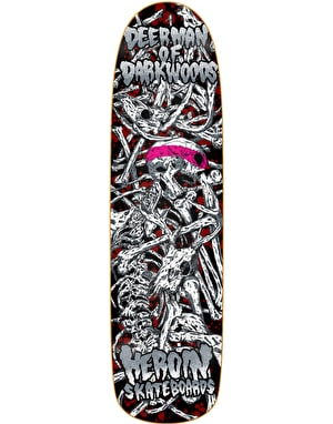 Heroin DMODW Hirotton Vicious Nature Skateboard Deck - 9.25