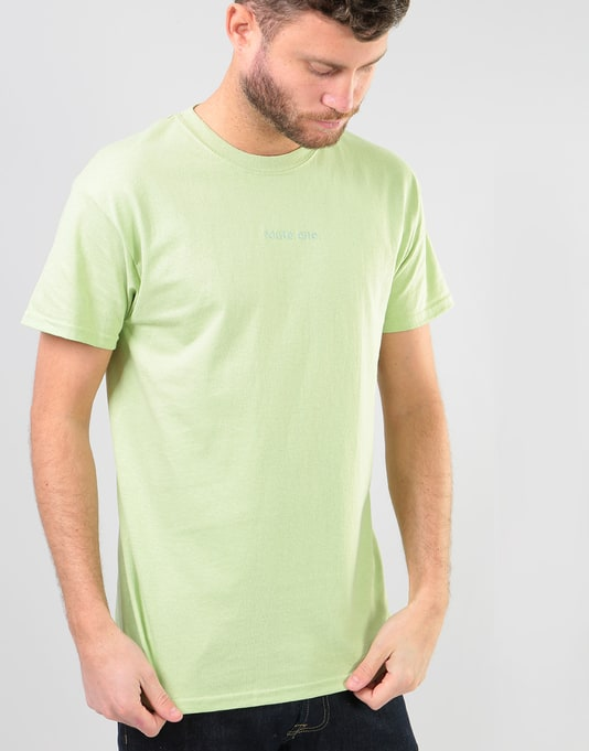Route One Embroidered Logo T-Shirt - Pistachio