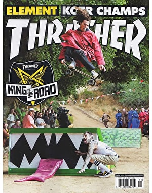 Thrasher Magazine Issue 460 November 2018
