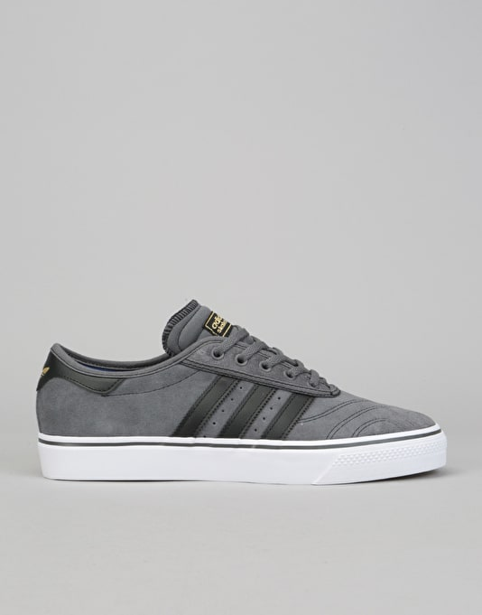 Adidas Adi Ease Premiere Skate Shoes Grey Black Running White Skate Shoes Mens Skateboarding Trainers Footwear Route One