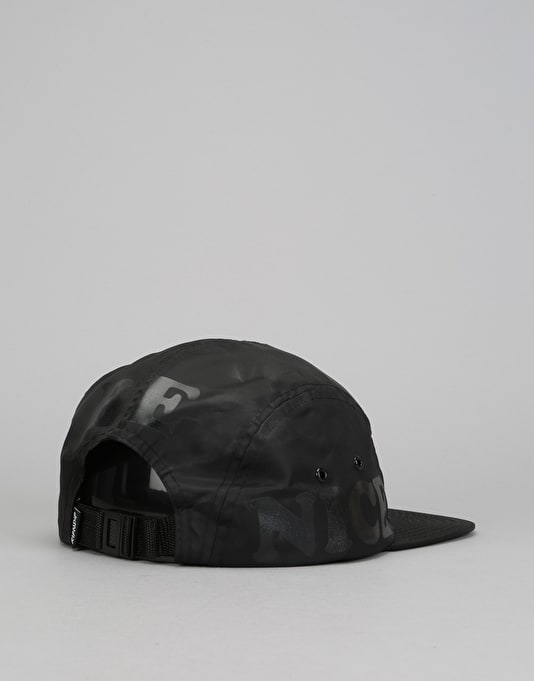 RIPNDIP MBN Nylon 5 Panel Cap - Black