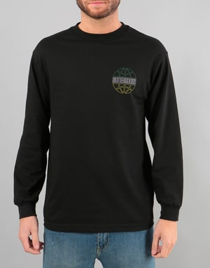 Butter Goods Kingston Worldwide Logo L/S T-Shirt - Black