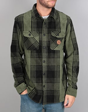ThirtyTwo Reststop Polar Fleece L/S Shirt - Forest