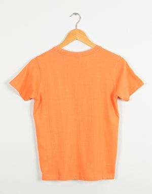Santa Cruz Screaming Hand Boys T-Shirt - Coral