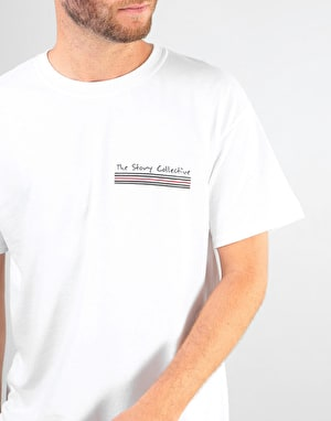 The Story Collective RM Panini T-Shirt - White