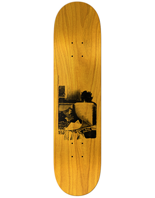 Krooked Cromer Zirox Poems Skateboard Deck - 8.18""