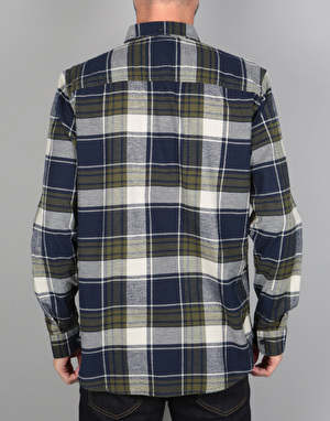 DC South Ferry L/S Shirt - Dark Indigo