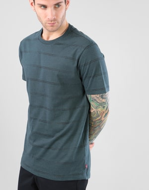 Levi's CM Pro Burn Out T-Shirt - Meridian Green