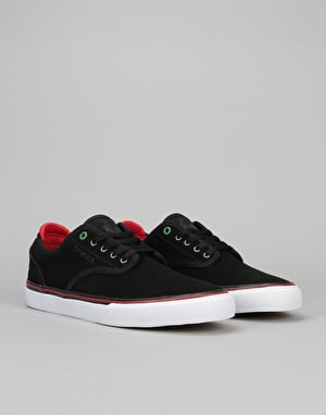 Emerica x Sriracha Wino G6 Low Vulc Skate Shoes - Black/Red