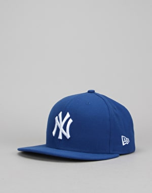 New Era 9Fifty MLB New York Yankees League Basic Snapback Cap - Blue