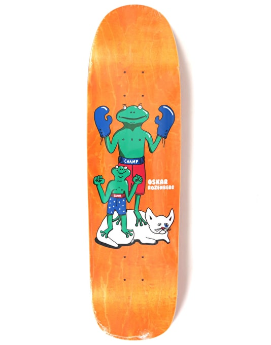 Polar Oskar Champ Champ Skateboard Deck - P9 Shape 8.625""