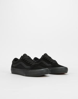 Vans Old Skool Pro Womens Trainers - Blackout