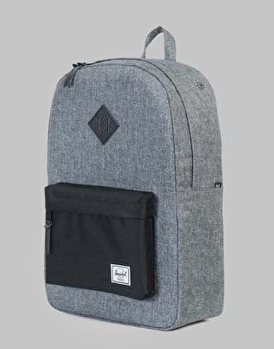 Herschel Supply Co. Heritage Backpack - Raven Crosshatch/Black/Black