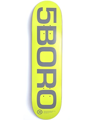 5Boro EXT Logo Team Deck - 8.25