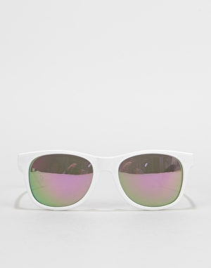 Vans Spicoli 4 Sunglasses - White/Purple