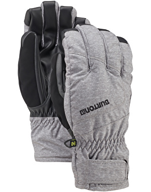 Burton Profile Under 2018 Snowboard Gloves - Monument Heather