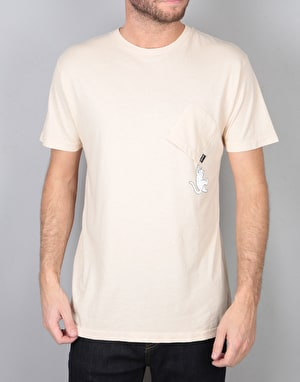 RIPNDIP Hang In There T-Shirt - Melon