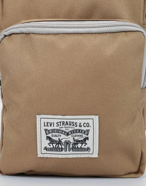 Levis L Series Small Cross Body Bag - Sand
